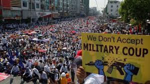 Fakta Terbaru Soal Kudeta Myanmar, Puluhan Demonstran Tewas